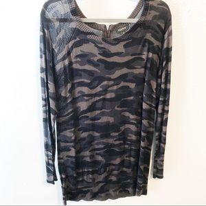 Torrid Camo lightweight sweater size 2/2x